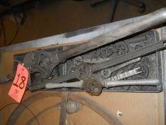 Lot - Dies, Tap & Die Wrenchs, Vintage