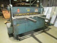Wysong 52 in. x 18 ga. Model 1252 Power Shear, S/N: P13-1037; with 12 Ga. Mild Steel Capacity; 14