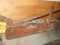 Bench Top Manual Ironworker/Punch