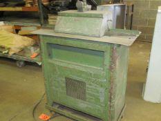 Lockformer 20 ga. Pittsburgh Rollformer, S/N: 3-624; on Portable Stand