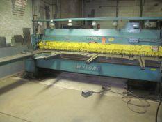 """Wysong 1/4 in. x 10 ft. Cap. Model 1025 Shear, S/N: P37-496; 1/4"""" x 10' Cap. (Mild Steel); 55-"""