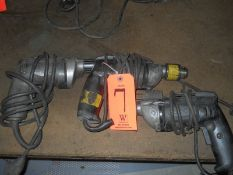 Lot - (2) Porter Cable Electric Power Drills