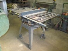 Sears Craftsman 10 in. Model 113.298720 Portable Table Saw, S/N: 7313.P1340