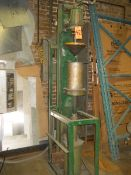 Hanna Cylinder Vertical Hydraulic Press, S/N: 63578; with 20 in. (approx.) Max. Opening