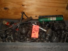 Lot - Hydraulic Power Packs & Knockout Punches