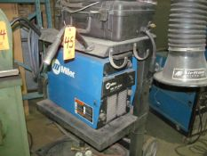 Miller XMT 304 CC/CV DC Inverter Arc Welder, S/N: LE421390; with Auto-Link, on Cart; Also