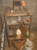 Johnson Gas Fired Forge Oven, Misc Hand Tools