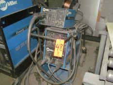 Miller XMT 300 CC/CV DC Inverter Arc Welder, S/N: KE614960; with Auto-Link, Miller S-22A Wire