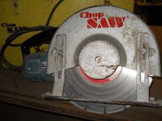 Bosch 12 in. Model Chop Saw Concrete Saw, S/N: 333.039; with Case