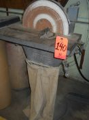 State 15 in. Disc Sander; with 1/2 HP Master Motor; Forward/Reverse Switch; Bag Dust Collector