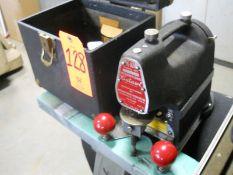 """International """"Cutawl"""" Model K-10 Electric Scroll Saw, S/N: 0026056"""