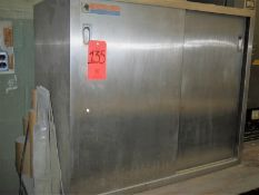 "Amsco Warming Cabinet; 36"" x 18"" x 20"" Inside Dimensions; Sliding Doors;"