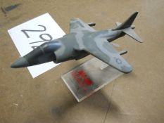 Model Harrier Fighter Airplane