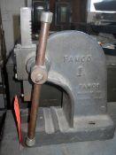 Famco No. 1 Arbor Press