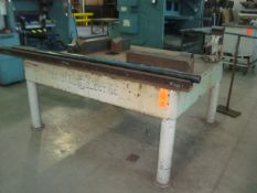 General Electric Heavy Duty Heavy Metals Steel Work Table/Bench With Craftsman Heavy Duty Bench