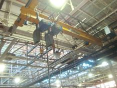 DeMag (Chicago) Approx. 15' ft. x 6' ft. 4-Ton Capacity Single Rail Bridge Crane With (Qty 2)