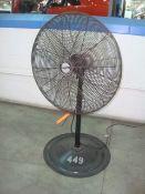 Air King 1/3-HP Heavy Duty Industrial Fan, 120V, 1Ph, 60Hz.