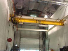 Approx. 24' ft. 5-Ton Capacity Single Rail Bridge Crane With R & M Material Handling 5-Ton
