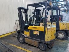 """Yale Model ERC060ZGN36TF084 6,000 lb. Capacity Electric Forklift With Sideshift, 126"""" Height Lift"""