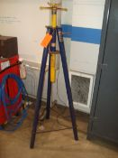 (Lot of 3) 1.5-Ton Capacity Under Hoist Support Stands