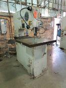 "DoAll MetalMaster 36"" Vertical Bandsaw, blade welder, 480v. A# 41111. (Machine Shop 2)"