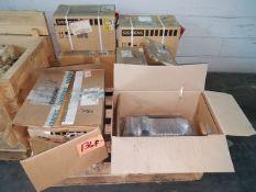Lot (7pcs.) Machine Spares, for Cincinnati Magnum machining center, includes (1) Siemens 1FT6084-