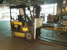 """Yale Model ERC060ZFN36SE084 5,000 lb. Capacity, Electric Forklift With 185"""" Lift Height Reach, 72"""""""
