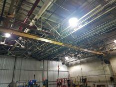 Demag Traveling Bridge Crane, approx. 45' span, includes 2-ton electric chain hoist, 6-way pendant