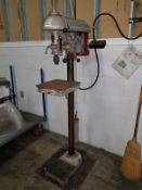 """Walker-Turner 15"""" Drill Press, 1/2-hp, 115/208-230v. s/n 944, A# 41102."""