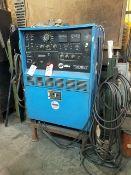 Miller Syncrowave 500-Amp CC-AC/DC Arc Welder, with gun, needs repair, 200/230/460v. S/N LC009805,