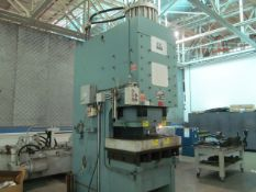 HTC CFP-250G 250-Ton Hydraulic Press, Protech programmable Eagle Eye, includes large hydraulic power