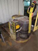 Clark Model P60E 6,000 lb. Capacity Electric Walk Behind Lift Truck, 12V. Sn# P465346435TA686,