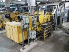 Caterpillar 3516 Generator Set, fuel natural gas, 962 KVA, 770 KW, rating .8 COS@ 60 Hertz, 3ph, 6
