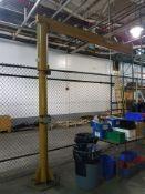 Contrx Industries Medium Duty Floor Mounted Jib, 250-lbs. capacity, no hoist, S/N 45016.
