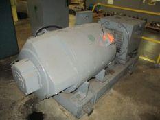 GE 5CD585G199BG 200 HP DC Generator, S/N LF-2-77 with GE 250 HP Induction Motor (Basement CX-68)