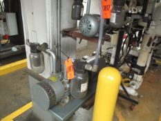 Gast 6066-V107A 5 HP Vacuum Pump, Gast 2587-V103 1-1/2 HP Vacuum Pump (Basement BW-46)