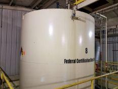 20.000 Gallon Max. Capacity Vertical (Federal Certification Diesel Fuel) Storage Tank #8 (Tank