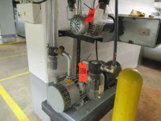 Gast 6066-V107A 5 HP Vacuum Pump, Gast 2587-V103 1-1/2 HP Vacuum Pump (Basement CW-46)