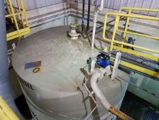 10.000 Gallon Max. Capacity Vertical (#1 Diesel Fuel) Storage Tank #12 (Tank Farm Outside North