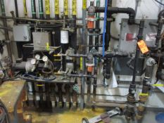 Fuel Room Bay 3 with Control Console, Pump, Heat Exchangers, Piping, Valves, Etc. (Prep Room Near