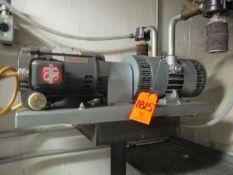 Gast 6066-V107A 5 HP Vacuum Pump, Gast 2587-V103 1-1/2 HP Vacuum Pump (Basement FW-46 & EW-46)
