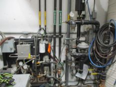 Fuel Room Bay 2 with Control Console, Pump, Heat Exchangers, Piping, Valves, Etc. (Prep Room Near