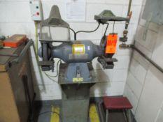 Baldor 8107WB Double End Pedestal Grinder, 3/4 HP (Prep Room Near Door 25)