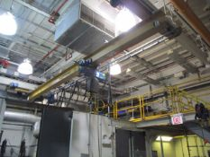 Demag 2-Ton Single Grider Underslung Bridge Crane, s/n 05236 with Electric Chain Hoist, 20' Span,