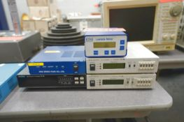 (1) NGK Sensor Controller, (1) OnoSokki High Response F/V Converter FV-1400, (1) ETAS Lambda
