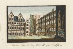 VEDUTEN - DEUTSCHLAND: Heidelberg und Umgebung.
