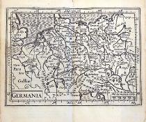 VEDUTEN - SAMMELBÄNDE: Bertius, Petrus; Commentatorium rerum Germanicum, libri tres.
