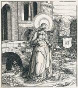 LEONHARD BECK: St. Amalberga I - St. Guido - St. Simpertus (Simbert von Augsburg) - St. Theodardus.