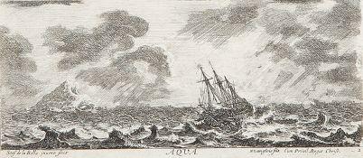 STEFANO DELLA BELLA: Aqua - Paisages maritimes (Titre) - Divers Embarquements (7).