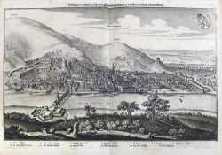 VEDUTEN - SAMMELBÄNDE: Merian, Mattheus (Hrsg.); Topographia Palatinatus Rheni et Vicinarum Regionu